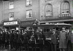 North Walsham Fire Service, market place, Second World War. #NorthWalsham #secondworldwar http://www.northwalshamarchive.co.uk