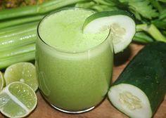 Calcium-Rich cucumber Juice - Reboot with Joe juicing recipes Nutribullet Juice Recipes, Healthy Juice Recipes, Juicer Recipes, Healthy Juices, Detox Recipes, Juice Drinks, Juice Smoothie, Fruit Smoothies, Healthy Smoothies