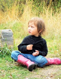 #baby #girl #nature #Idaho #photography #fallpictures