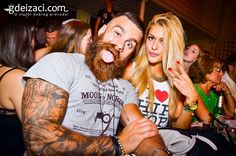 "#Crazy picture of a ""Viking"" guy with an awesome #beard and an equally awesome #tattoo!"