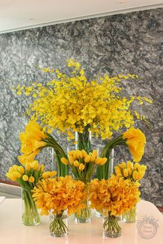 Grand Opening Arrangement for Capital Management Company – corporate event design Hotel Flower Arrangements, Creative Flower Arrangements, Large Floral Arrangements, Flower Centerpieces, Flower Vases, Flower Decorations, Ikebana, Jeff Leatham, Hotel Flowers