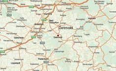 map 1870s, detmold, lippe north rhine westphalia germany - Yahoo Image Search Results