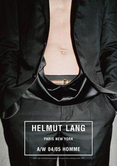Helmut Lang - advertising campaign by Jürgen Teller