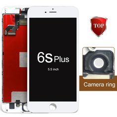 299.25$  Buy now - http://aliisc.worldwells.pw/go.php?t=32494080392 - 5pcs/lots alibaba china highscreen For iPhone 6S Plus LCD Screen Display Touch Digitizer AssemblyReplacement+Camera Holder 299.25$