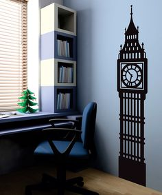 Antique Grandfather Clock Chair Vinyl Wall Decal By InfinityDecals - How do i put on a wall decal
