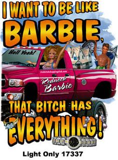redneck barbie