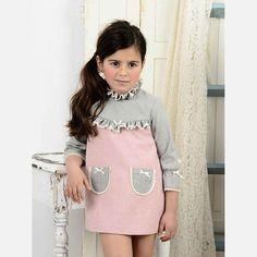 Vestido recto Laura Montaño mod. Salome