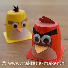 traktatie Angry Birds