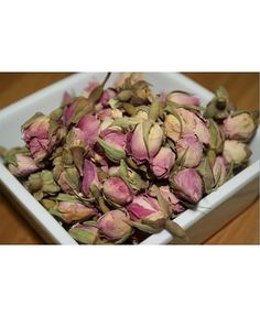 Whole Rose Buds Tea - This refreshing and delicious tea, with quite a sweet tart flavor, contains many medicinal properties. Rife with essential vitamins, as well as organic acids which help to build a strong immune system, and great at detoxifying your kidneys, one glass of rose tea can be the equivalent to eating 50 oranges! Perfect if you have cold or flu symptoms. If all that isn't enough, rose tea is also known to calm the central nervous system.