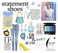 """""""Statement Shoes"""" by anna-gabedava ❤ liked on Polyvore featuring Givenchy, Balenciaga, Sophia Webster, Altuzarra, Miu Miu and Christian Dior"""