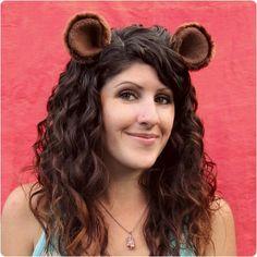 DIY Animal Costume : DIY Tutorial: Animal Ear Hair Clips  :  DIY Halloween