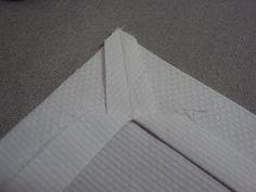Barrado para toalha de mesa e guardanapos
