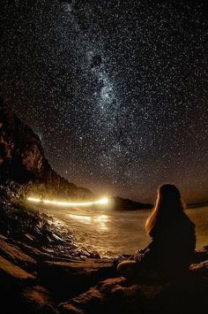 """Dwell on the beauty of life. Watch the stars, and see yourself running with them."" ― Marcus Aurelius, Meditations Stargazing in Beautiful Punakaiki, New Zealand"