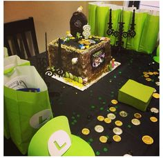 Dylan's Luigi's Mansion Party!!! Luigi's Haunted Mansion, Mansion Homes, 10th Birthday Parties, Birthday Bash, Birthday Party Themes, Luigi Mansion, Gifts For Wedding Party, Diy Party, Party Ideas