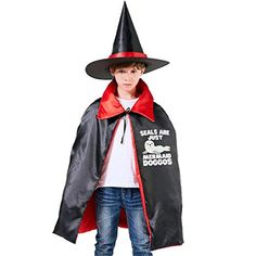 Horizon-t American Flag Hero Halloween Wizard Witch Kids Cape with Hat Cloak for Party Christmas Costume Cosplay Best Halloween Costumes & Dresses USA Devil Halloween Costumes, Creative Halloween Costumes, Christmas Costumes, Halloween Party Decor, Halloween Outfits, Halloween Kids, Halloween Masquerade, Unicorn Halloween, Unisex
