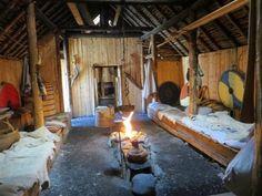viking inside long sod vikings village norse medieval vinland wood interiors hall guy camp designs party