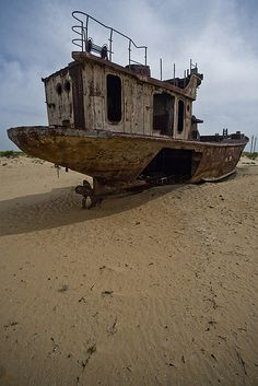 Muynak - Aral Sea :(