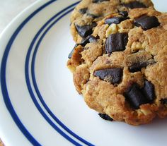 Healthy-Chocolate-Chip-Cookies by HealthyIndulgencesBlog, via Flickr