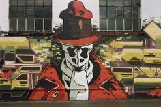 Rorschach - Street Artist