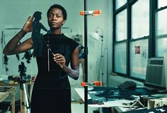 Kara Walker (born November 26, 1969) is a contemporary African American artist who explores race, gender, sexuality, violence and identity in her work. She is best known for her room-size tableaux of black cut-paper silhouettes, such as The Means to an End--A Shadow Drama in Five Acts. Learn More: http://en.wikipedia.org/wiki/Kara_Walker