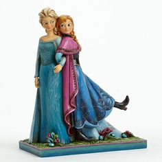2014 Jim Shore, Sisters Forever - Anna & Elsa from Frozen Figure
