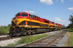 RailPictures.Net Photo: KCS 4773 Kansas City Southern Railway GE ES44AC at Clark, Missouri by Matthew Griffin