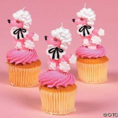 POODLE CUP CAKES