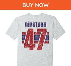 Mens 70th Birthday T-Shirt Gift | 70 Years Old Vintage Large Heather Grey - Birthday shirts (*Amazon Partner-Link)