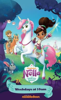 Nella the Princess Knight Full Episodes, Games and Videos on Nick Jr. Nella The Princess Knight, Birthday Painting, Little Charmers, Nick Jr, Family Halloween Costumes, Halloween Ideas, Kids Board, Family Game Night, Disney Toys