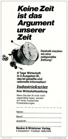 Original-Werbung/ Anzeige 1969 - INDUSTRIEKURIER  - ca. 110 x 240 mm