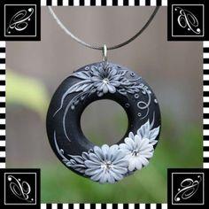 цветы полимерная глина заколки ободки для волос - Поиск в Google