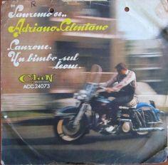 Adriano Celentano - Canzone / Un bimbo sul leone 45 giri anni 60