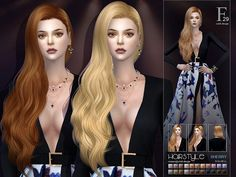 S-club ts4 hair Sherry n29 Created for: The Sims 4 - Custom Shadow Map - Custom Thumbnail - All LODs - Hat Compatible - Smooth Skinning http://www.thesimsresource.com/downloads/1400883