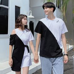 Fashion Couple, Teen Fashion Outfits, Kpop Outfits, Korean Outfits, Look Fashion, Casual Outfits, Matching Couple Outfits, Matching Couples, Kpop Couples