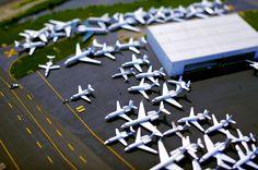 Airport, Tilt Shift image by Vincent Laforet