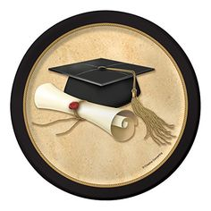 Check out the deal on Sophisticate Grad Plates at Party at Lewis Elegant Party Supplies, Plastic Dinnerware, Paper Plates and Napkins Graduation Desserts, Graduation Party Centerpieces, Graduation Party Supplies, Graduation Decorations, Graduation Party Invitations, Graduation Clip Art, Graduation Cards, Preschool Graduation, Graduation Ideas