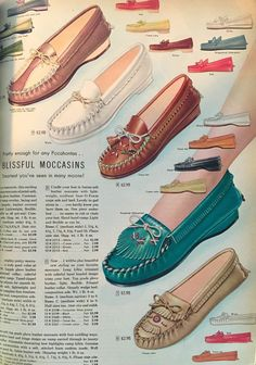 1950s Moccasin Shoes, 1956
