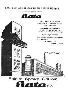 Advertisement of Bata shoe company, Poland, 1936 #batashoes #bata120years #advertising