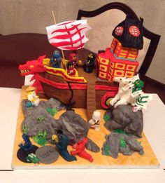 Ninjago cake from Cakes By Nicky
