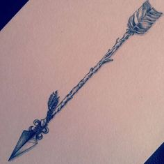 Perfect arrow tattoo design.