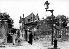 Rue Mont-Cenis. Montmartre. Paris , ca. 1900