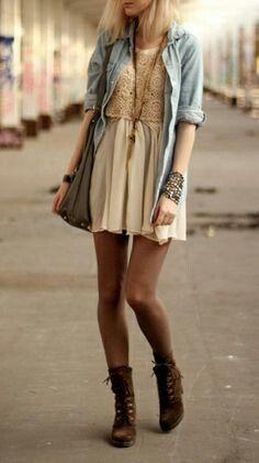 Crochet lace boots