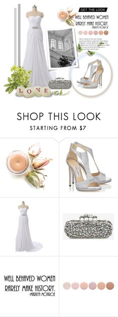 """COMIGO 46"" by miinni ❤ liked on Polyvore featuring Jimmy Choo, Alexander McQueen, WALL and Deborah Lippmann"