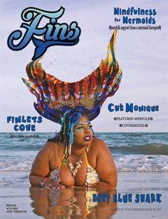 Fins Magazine | Issue 4 2020 | p58-59 Down Arrow, Apex Predator, Mermaids, Shark, Disney Characters, Fictional Characters, Creatures, Magazine, Magazines