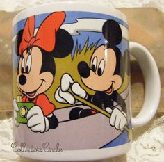 APPLAUSE DISNEY MICKEY AND FRIENDS FLORIDA MUG Minnie Mouse Coffee Cup Retired #Disney