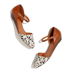 Madewell - cute shoes for spring - Need low-heeled shoes because carrying an infant on a 4 to 5 inch-heel shoes isn't really that easy. :D