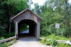 Vermont Covered Bridge by Larry1732, via Flickr
