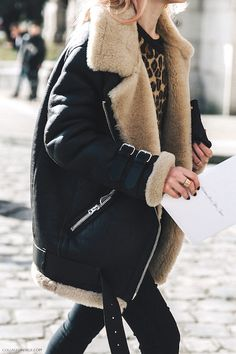 The Coolest Shearling-Lined Coats Of The Season | Le Fashion | Bloglovin'