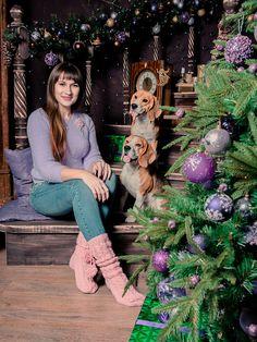 Уютная фотосессия для Марины с бигликами