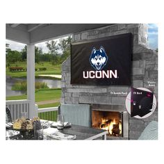 UConn Huskies Indoor/Outdoor TV Cover